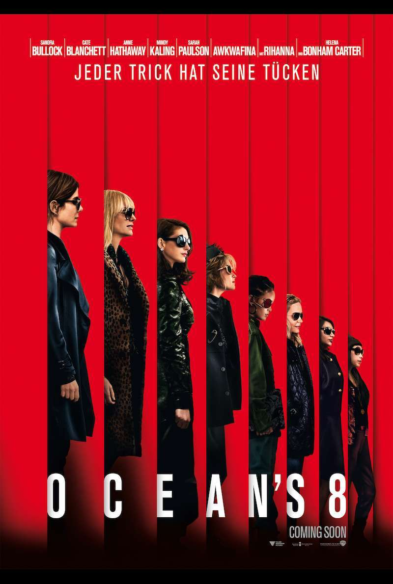 Teaser Poster zu Ocean's Eight (2018)