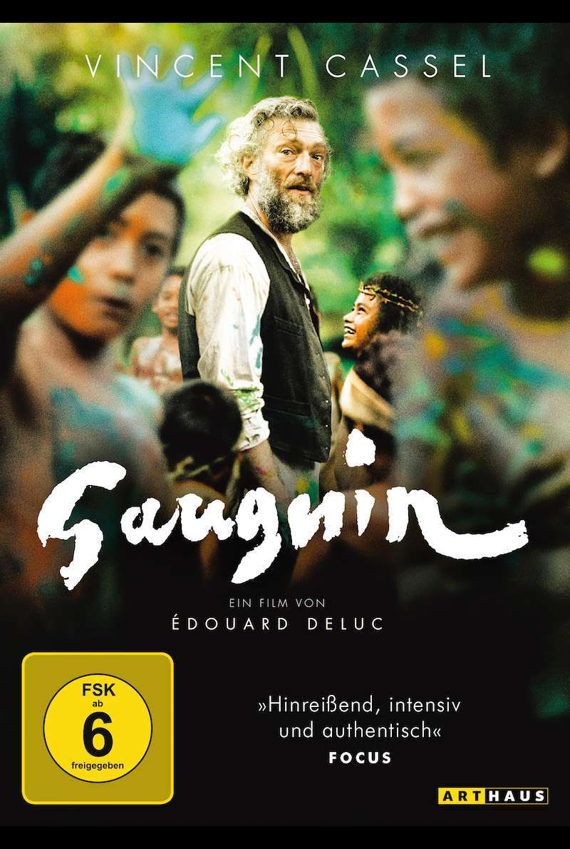 DVD-Cover zu Gauguin (2017)