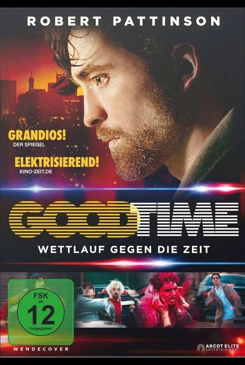 DVD-Cover zu Good Time (2017)
