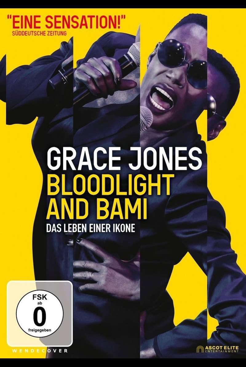 DVD-Cover zu Grace Jones: Bloodlight and Bami (2017) von Sophie Fiennes
