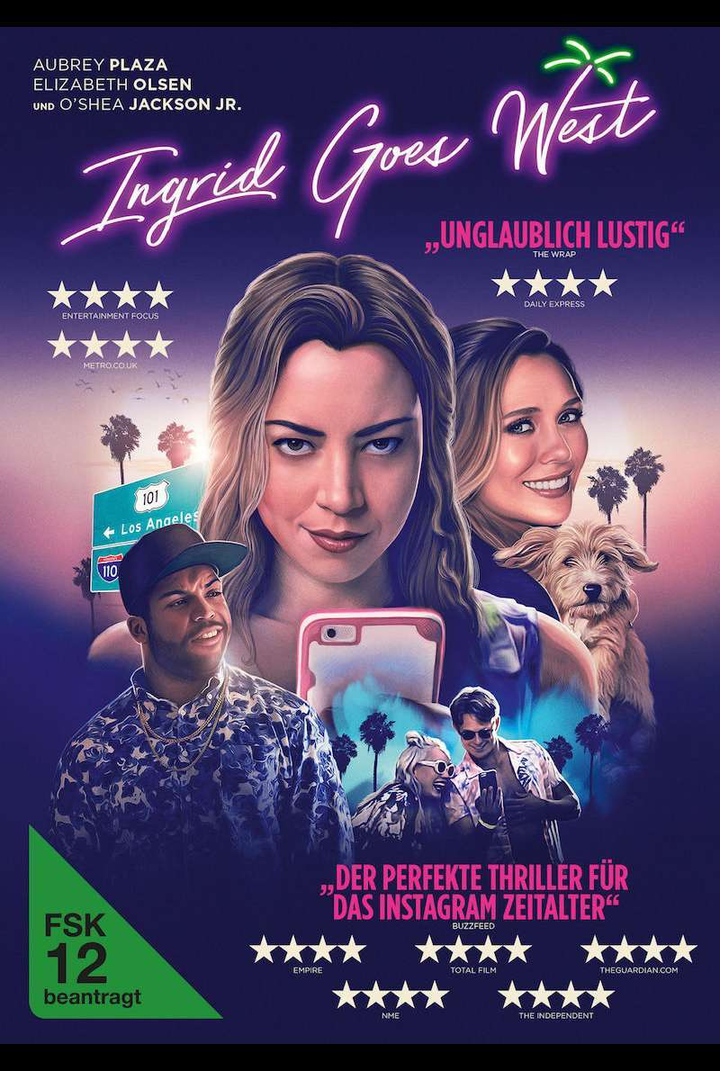 DVD-Cover zu Ingrid Goes West (2017)
