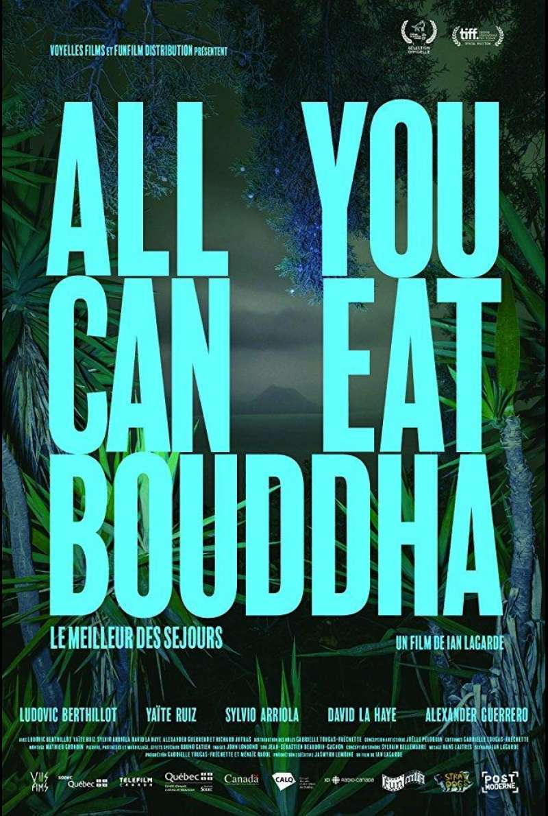 Poster zu All You Can Eat Buddha (2017) von Ian Lagrande