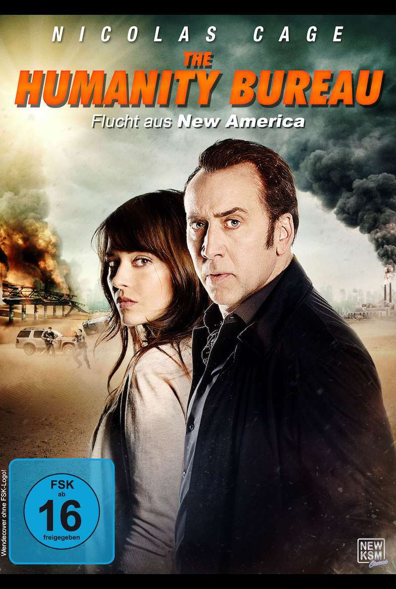 DVD-Cover zu The Humanity Bureau - Flucht aus New America (2017) von Rob W. King