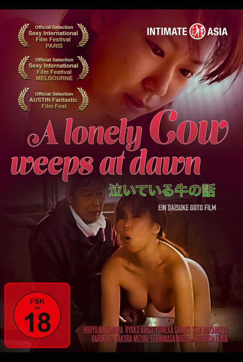 A Lonely Cow Weeps At Dawn - DVD-Cover