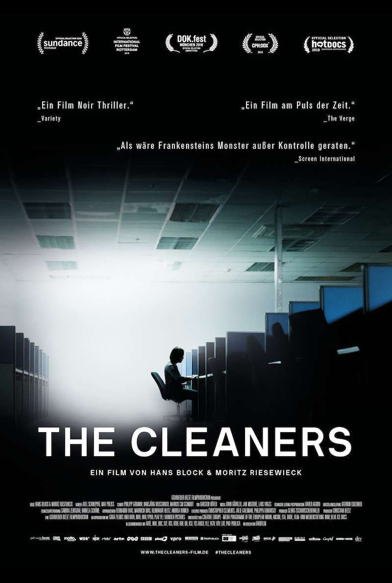 Poster zu The Cleaners (2018)