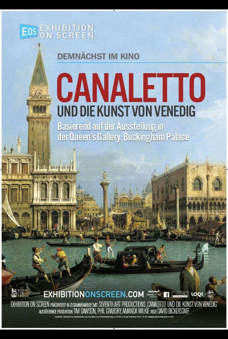 Canaletto and the Art of Venice - Plakat