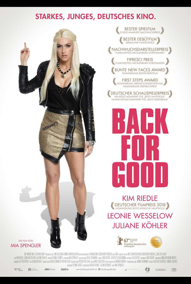 Poster zu Back for Good (2017)