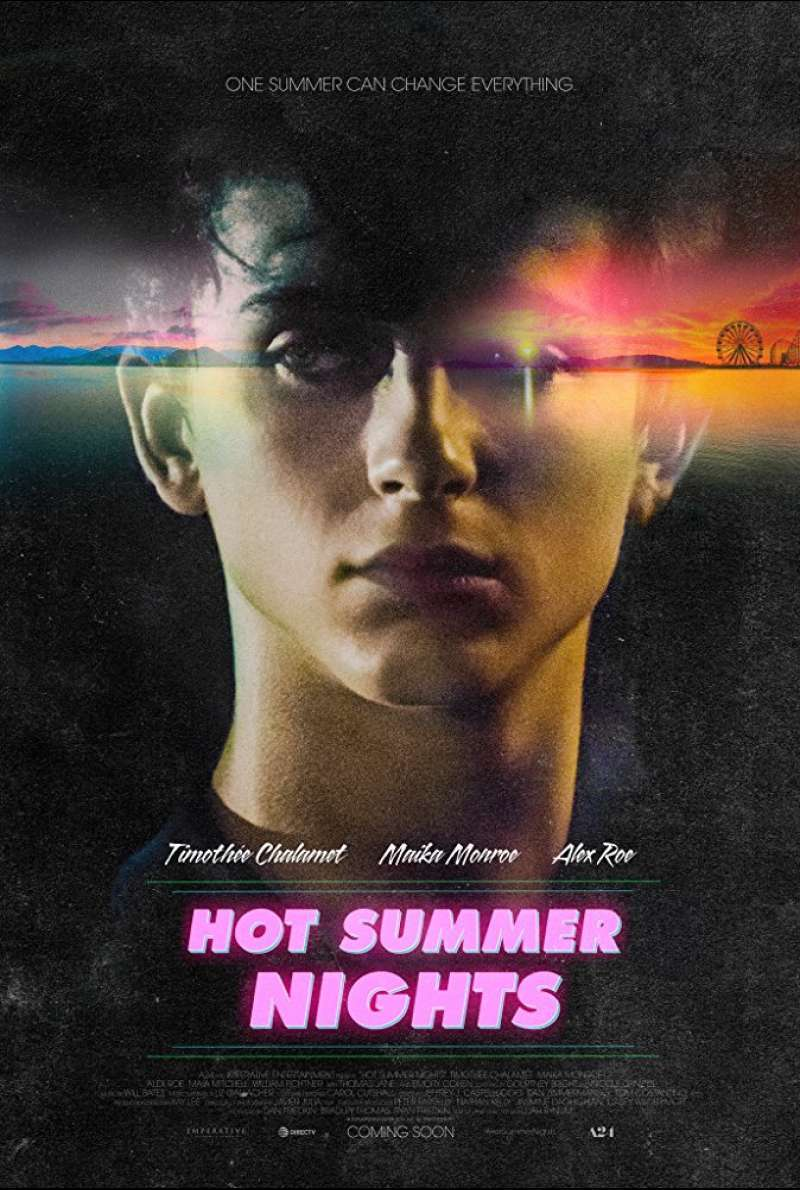 Poster zu Hot Summer Nights (2017)