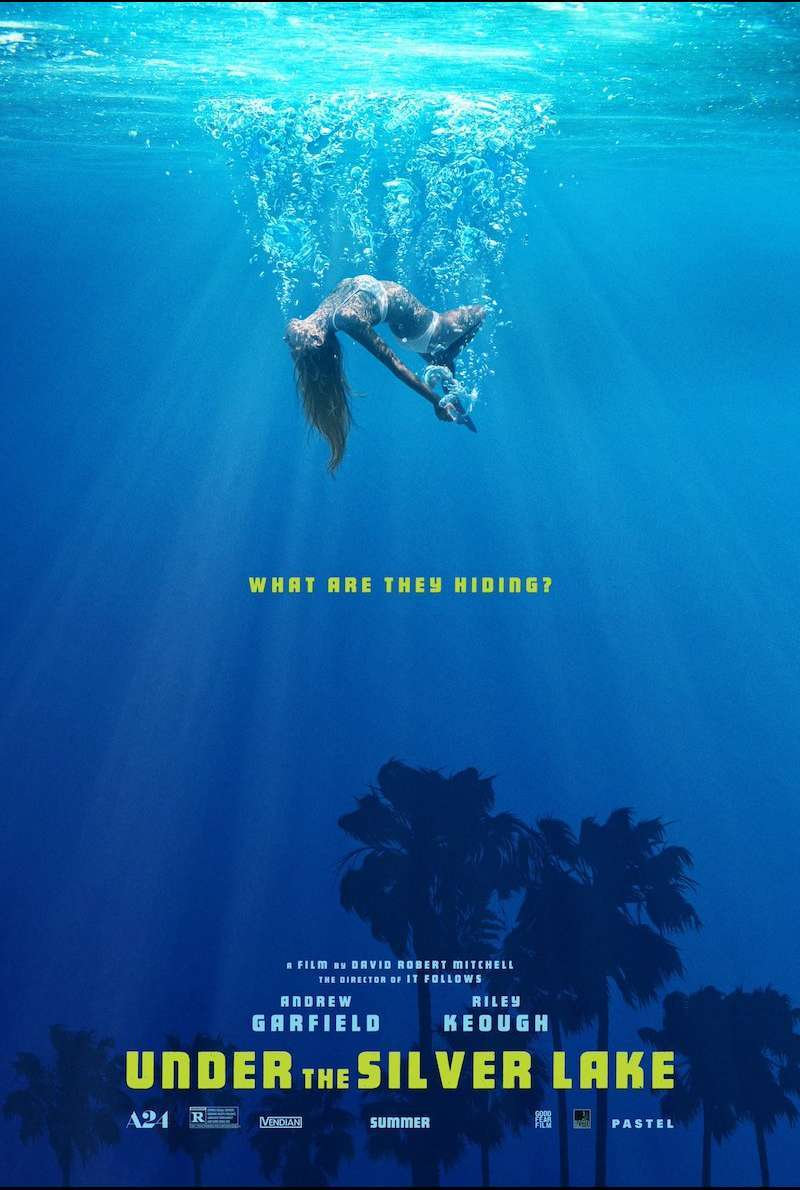 Poster zu Under the Silver Lake (2018)