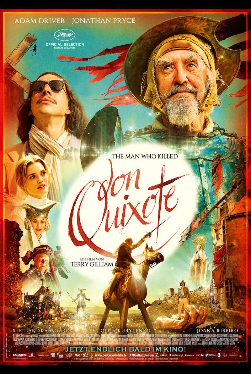 Poster zu The Man Who Killed Don Quixote (2018)