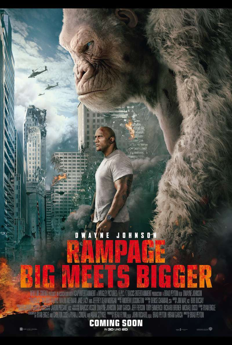 Poster zu Rampage - Bigger Meets Better (2018)