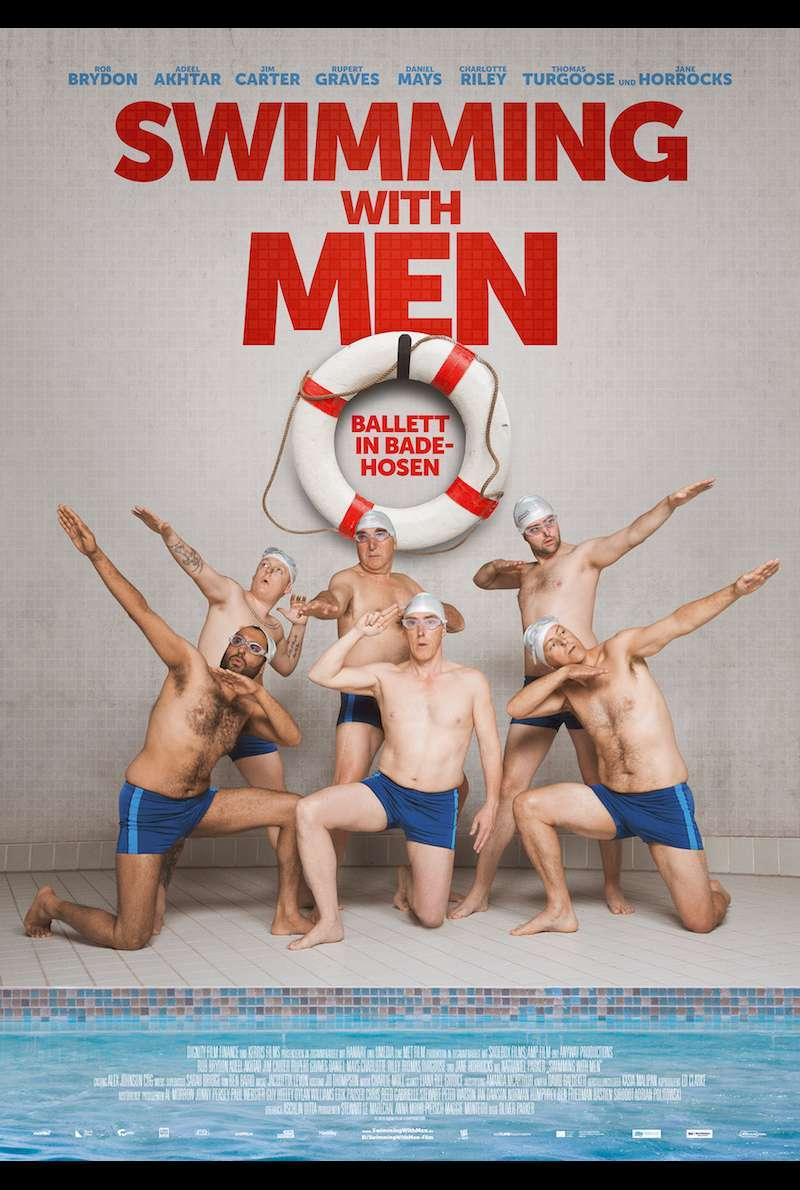Poster zu Swimming with Men (2018)