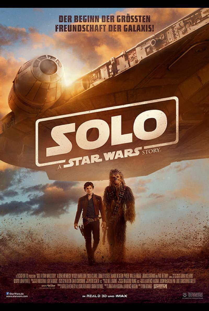 Solo: A Star Wars Story - Filmplakat