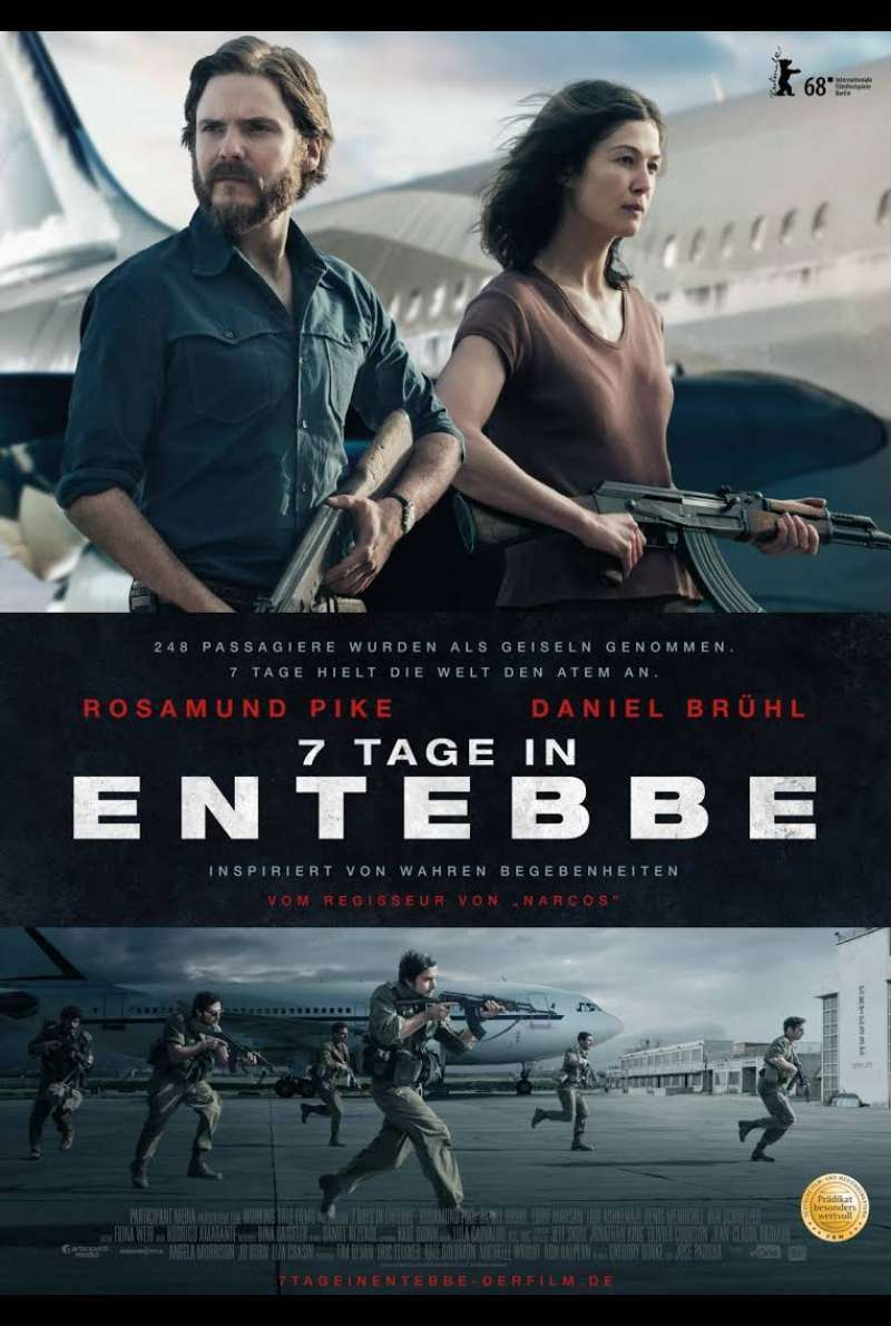 Poster zu 7 Tage in Entebbe (2018)