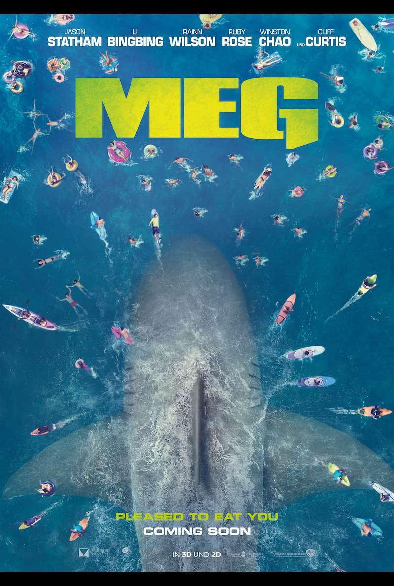 Deutsches Poster zu The Meg (2018)