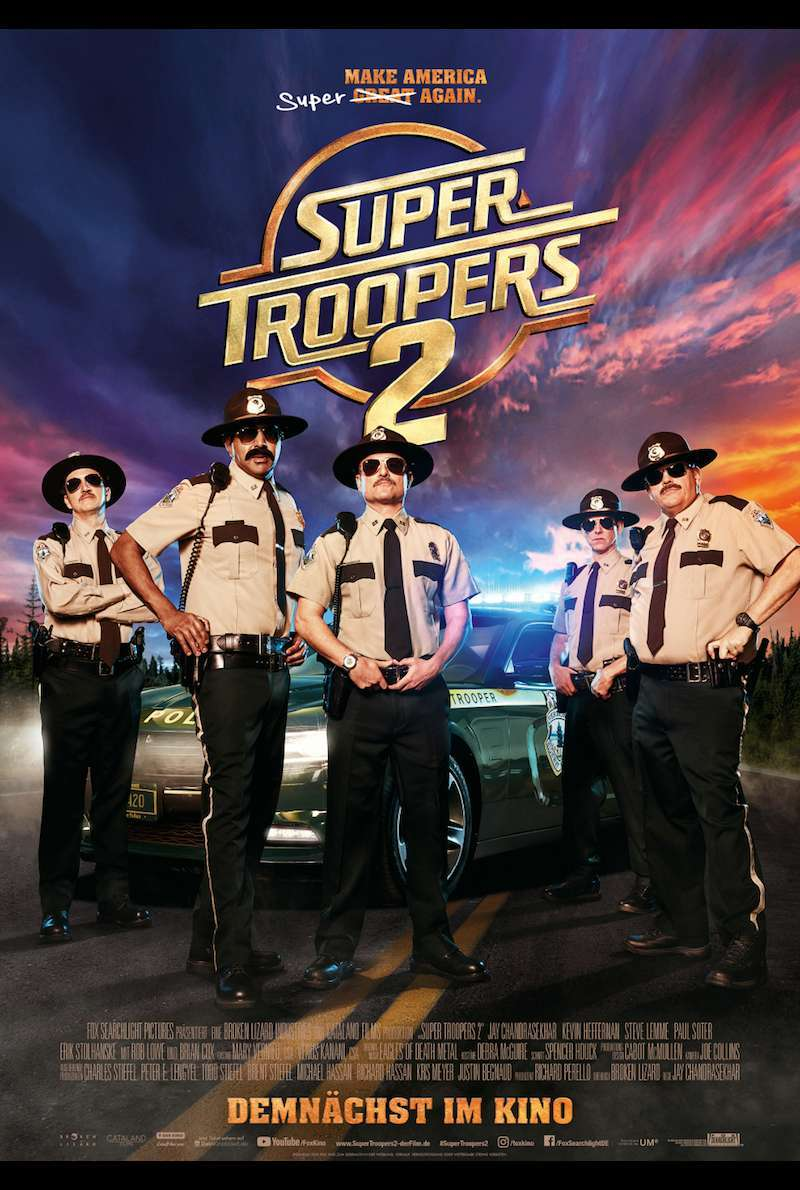 Poster zu Super Troopers 2 (2018)