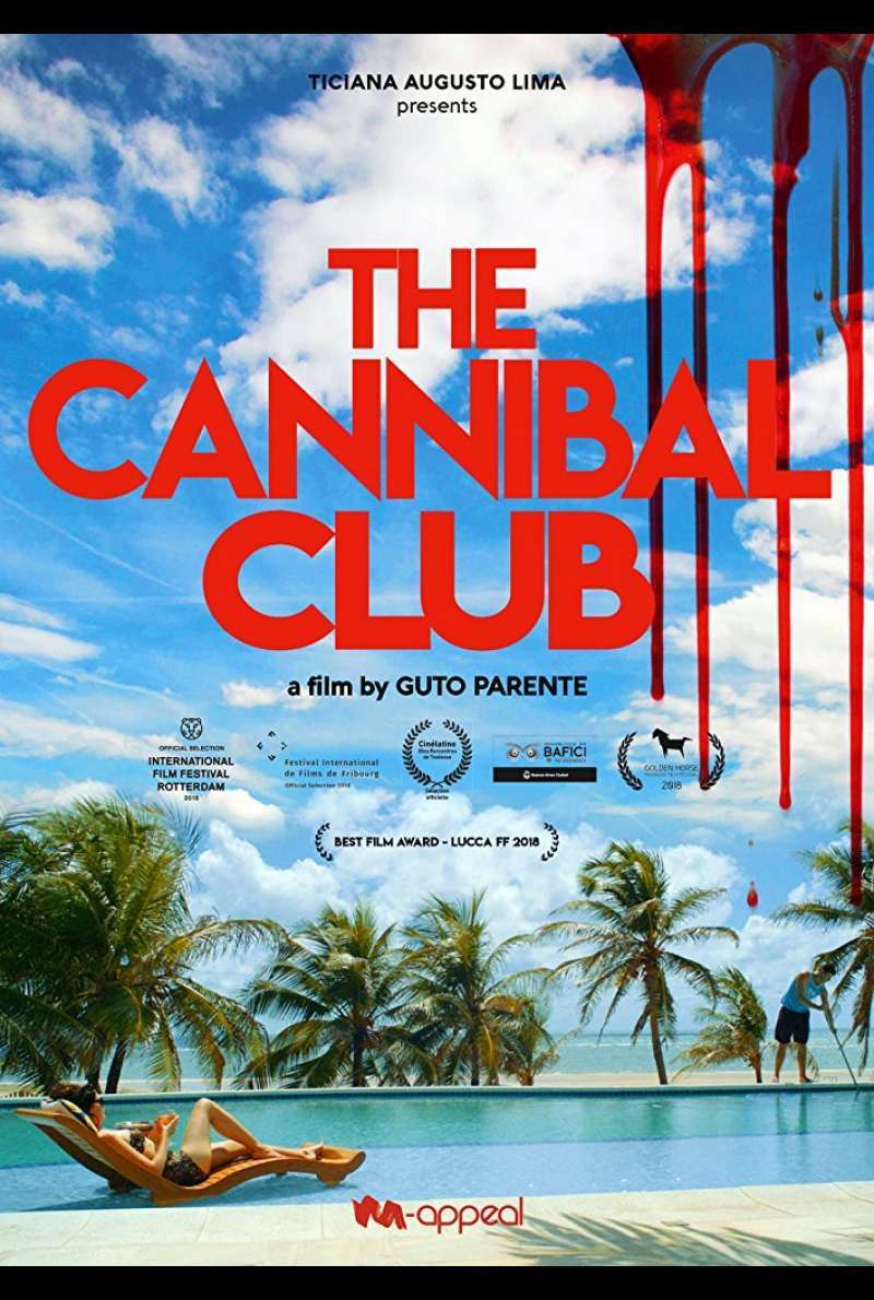 Poster zu The Cannibal Club (2018)