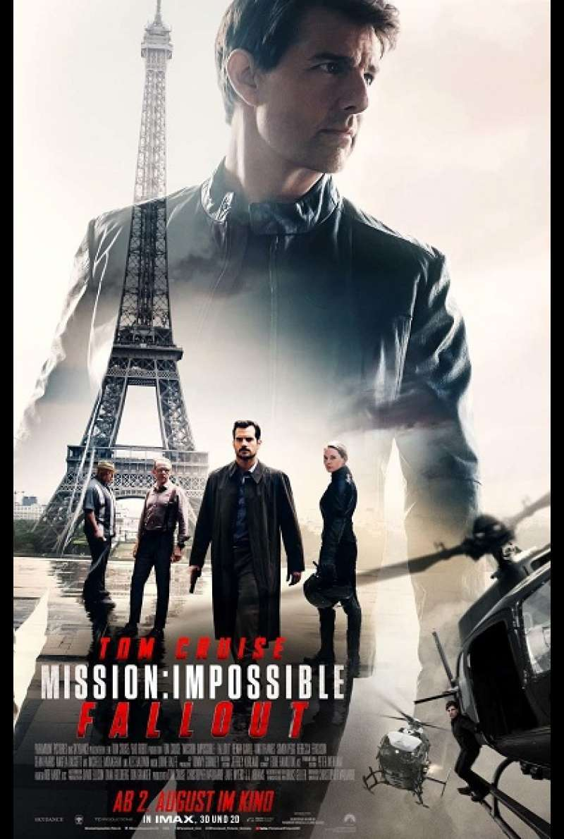 Mission: Impossible 6 - Fallout - Filmplakat
