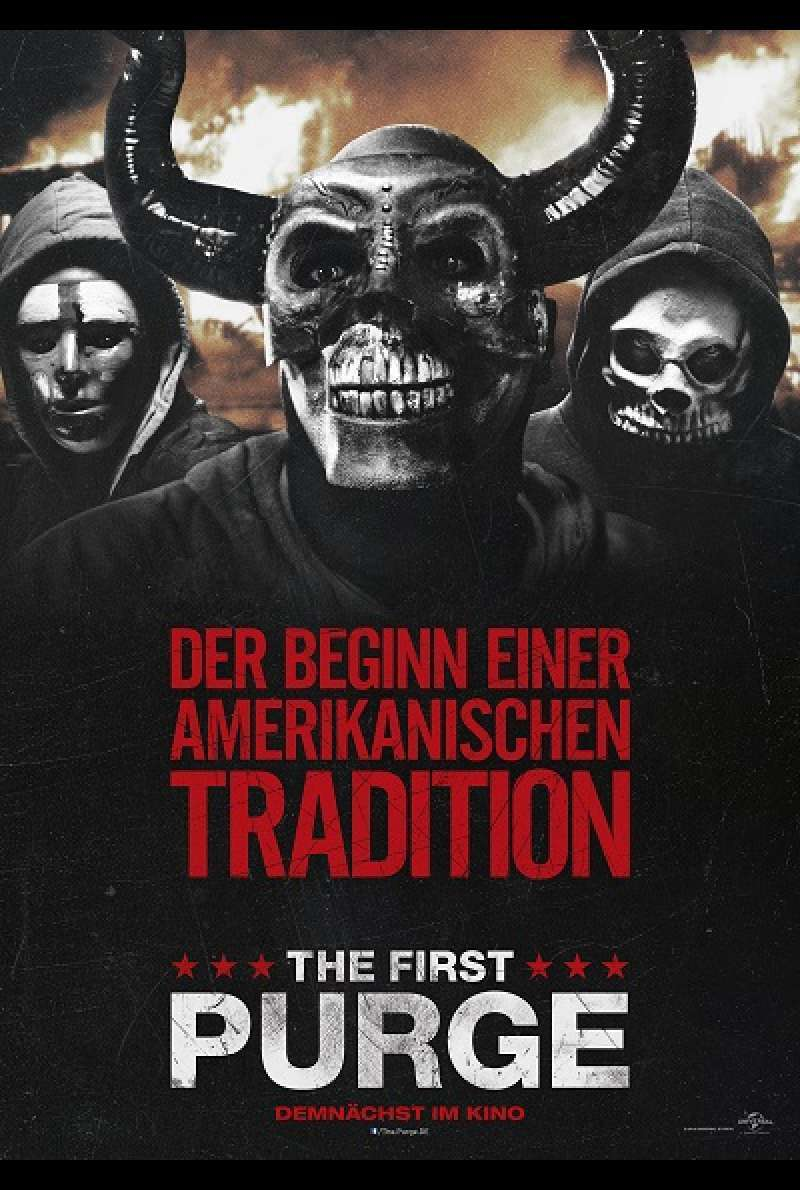 The First Purge - Filmplakat