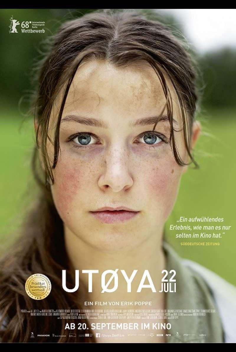 Utoya Film Kinostart