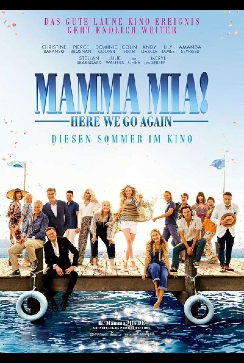 Mamma Mia 2! Here We Go Again - Filmplakat