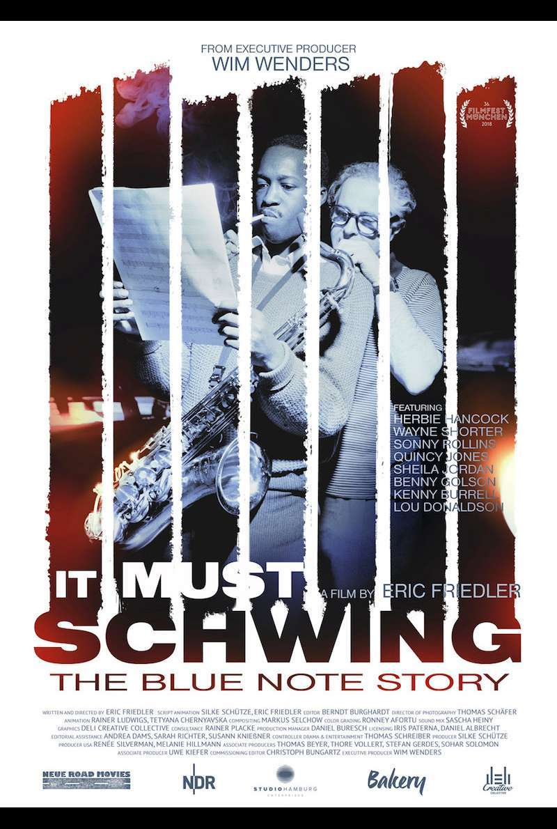Poster zu It Must Schwing - The Blue Note Story (2018)