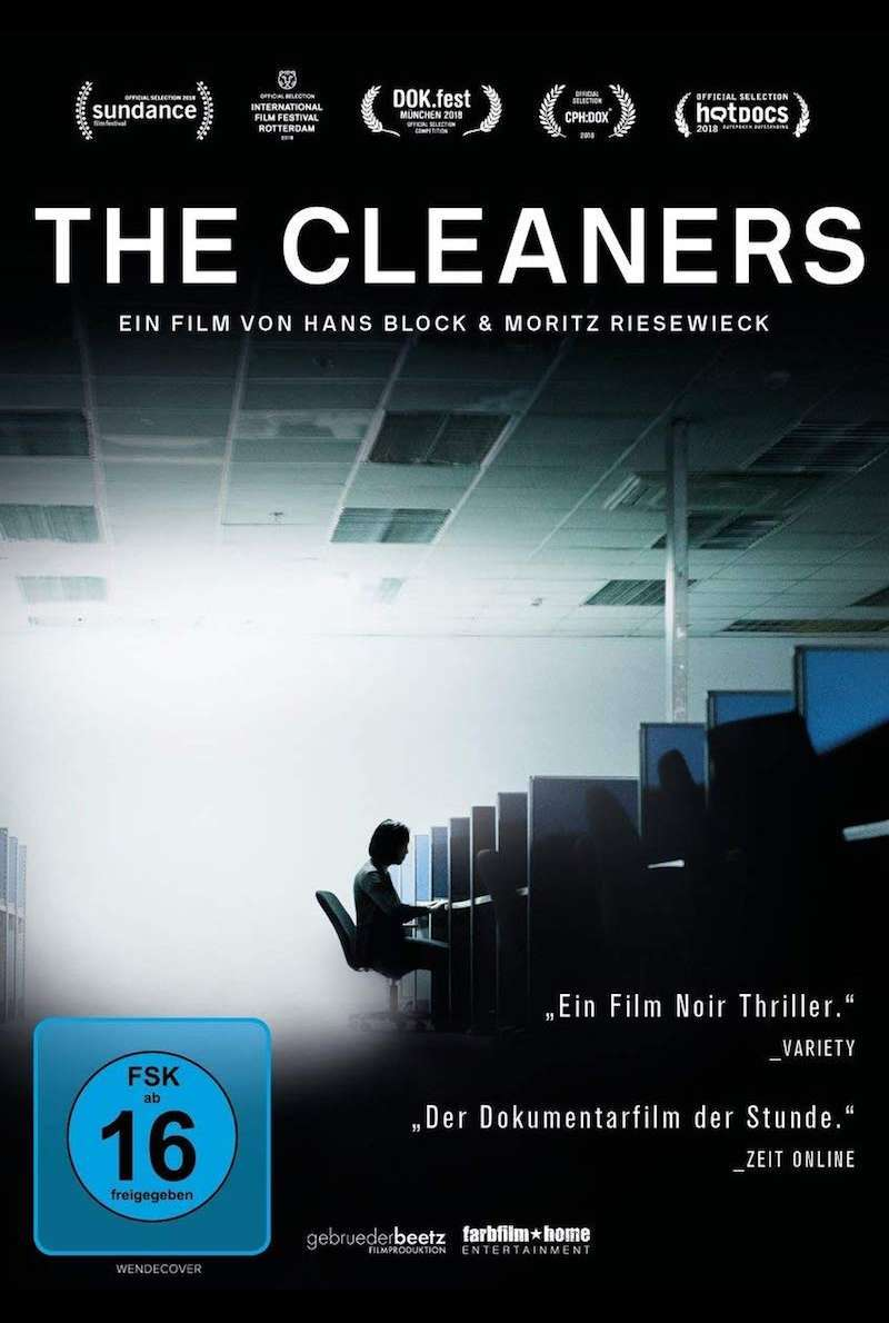 DVD-Cover zu The Cleaners (2017)