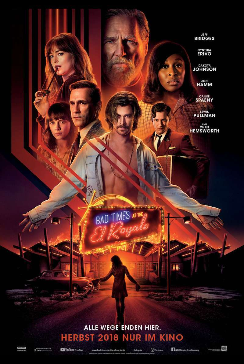 Filmplakat zu Bad Times at the El Royale (2018)