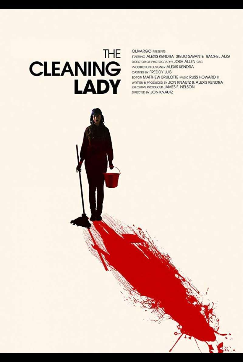 US-Poster zu The Cleaning Lady (2018)