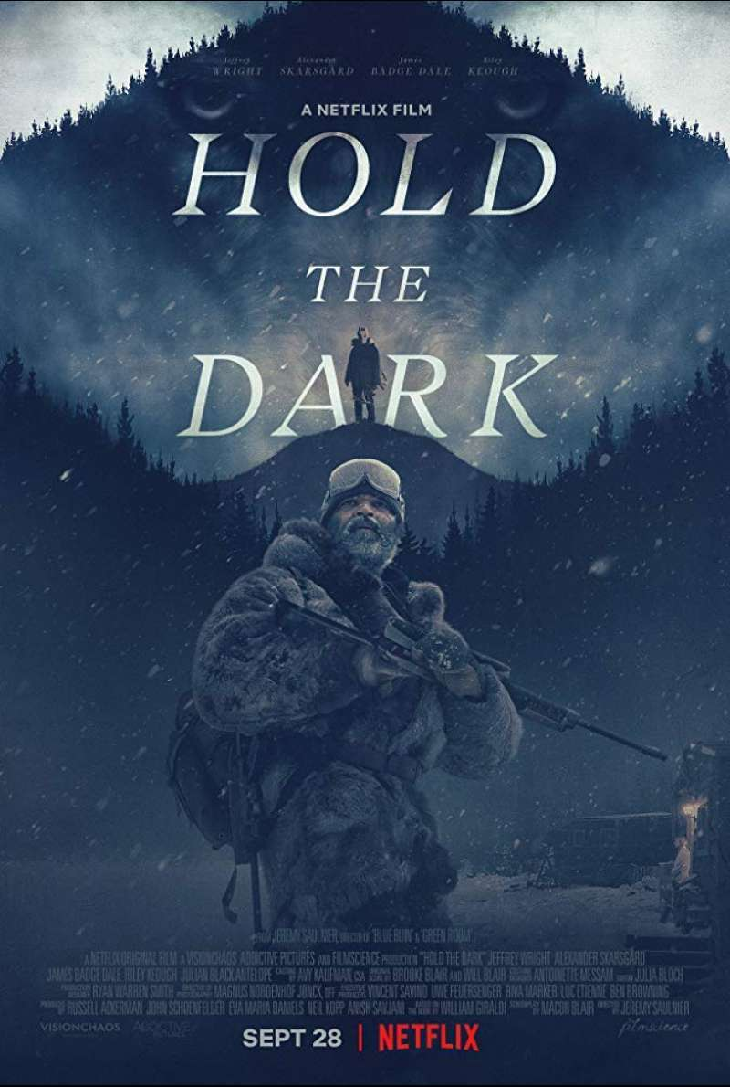 US-Poster zu Hold the Dark (2018)
