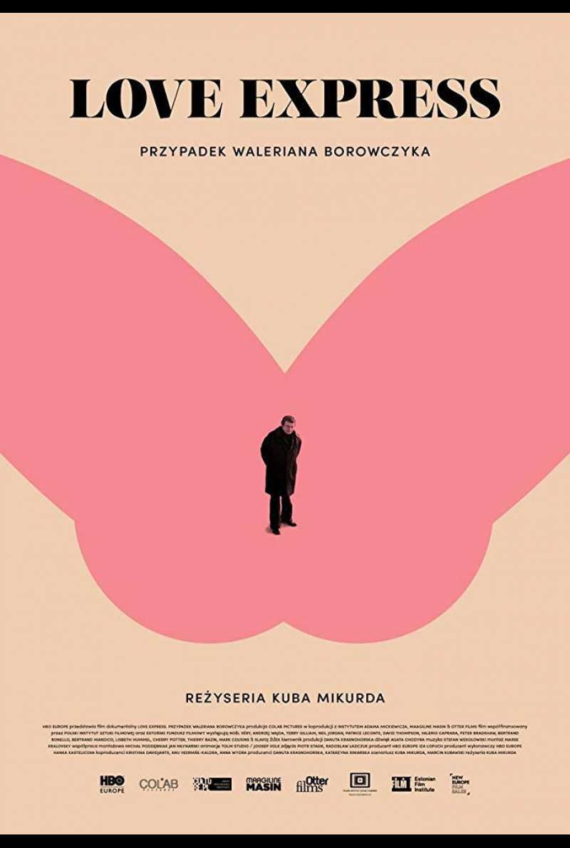 Filmplakat zu Love Express. The Disappearance of Walerian Borowczyk (2018)