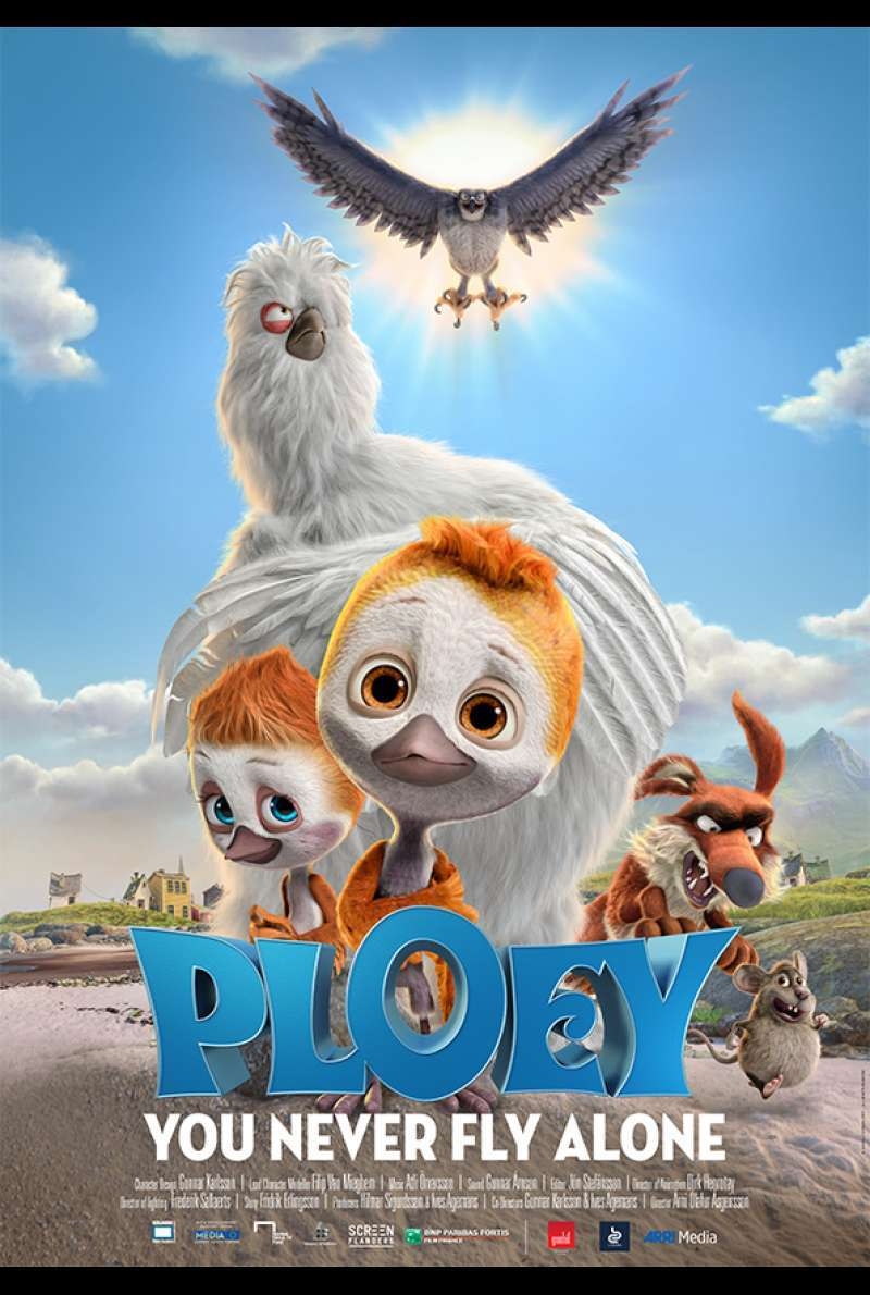 Poster zu Ploey - You Never Fly Alone (2018)