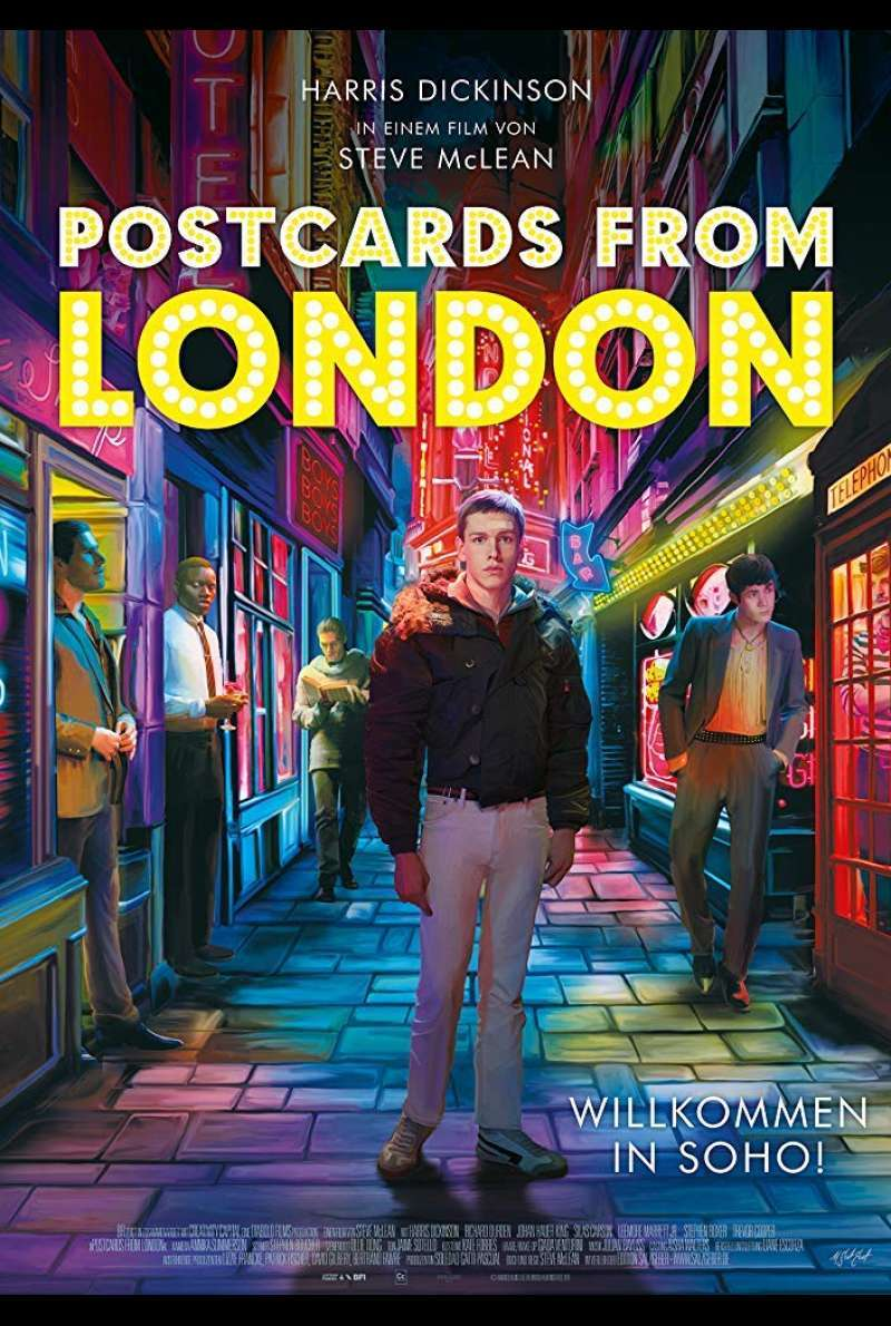 Poster zu Postcards from London (2018)