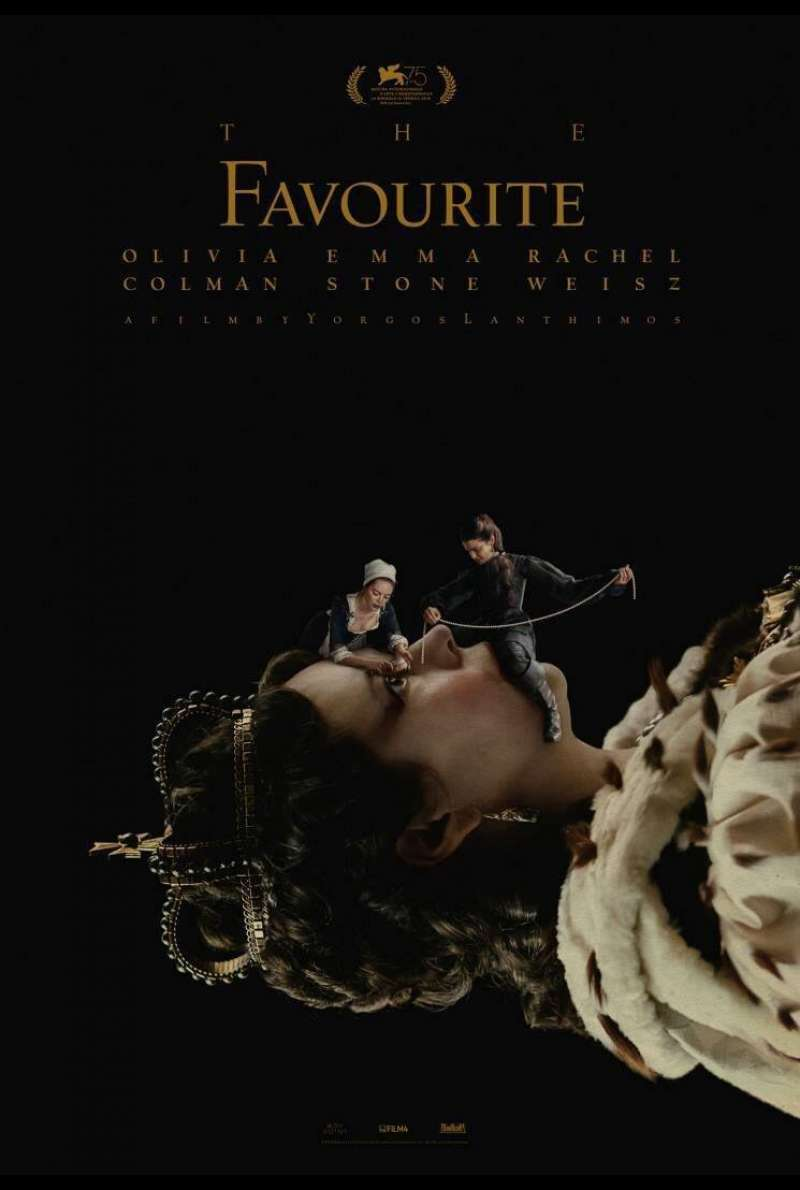 Poster zu The Favourite (2018)