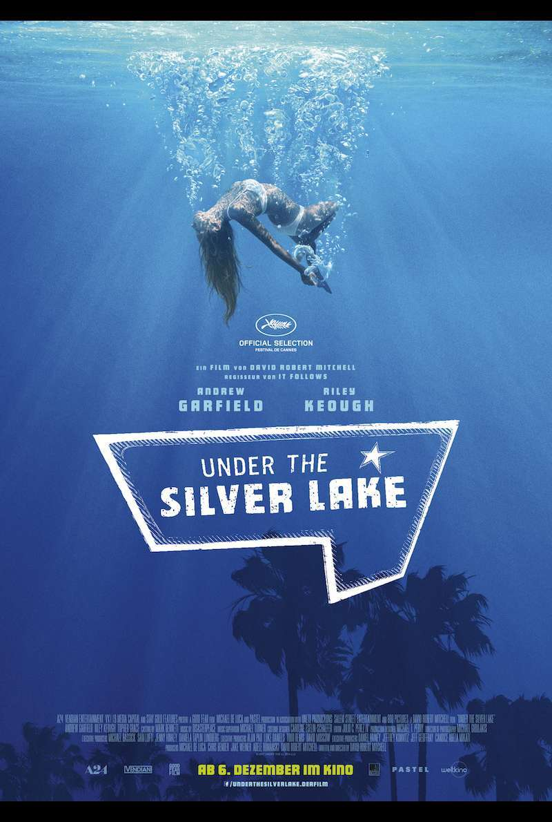 Filmplakat zu Under the Silver Lake (2018)