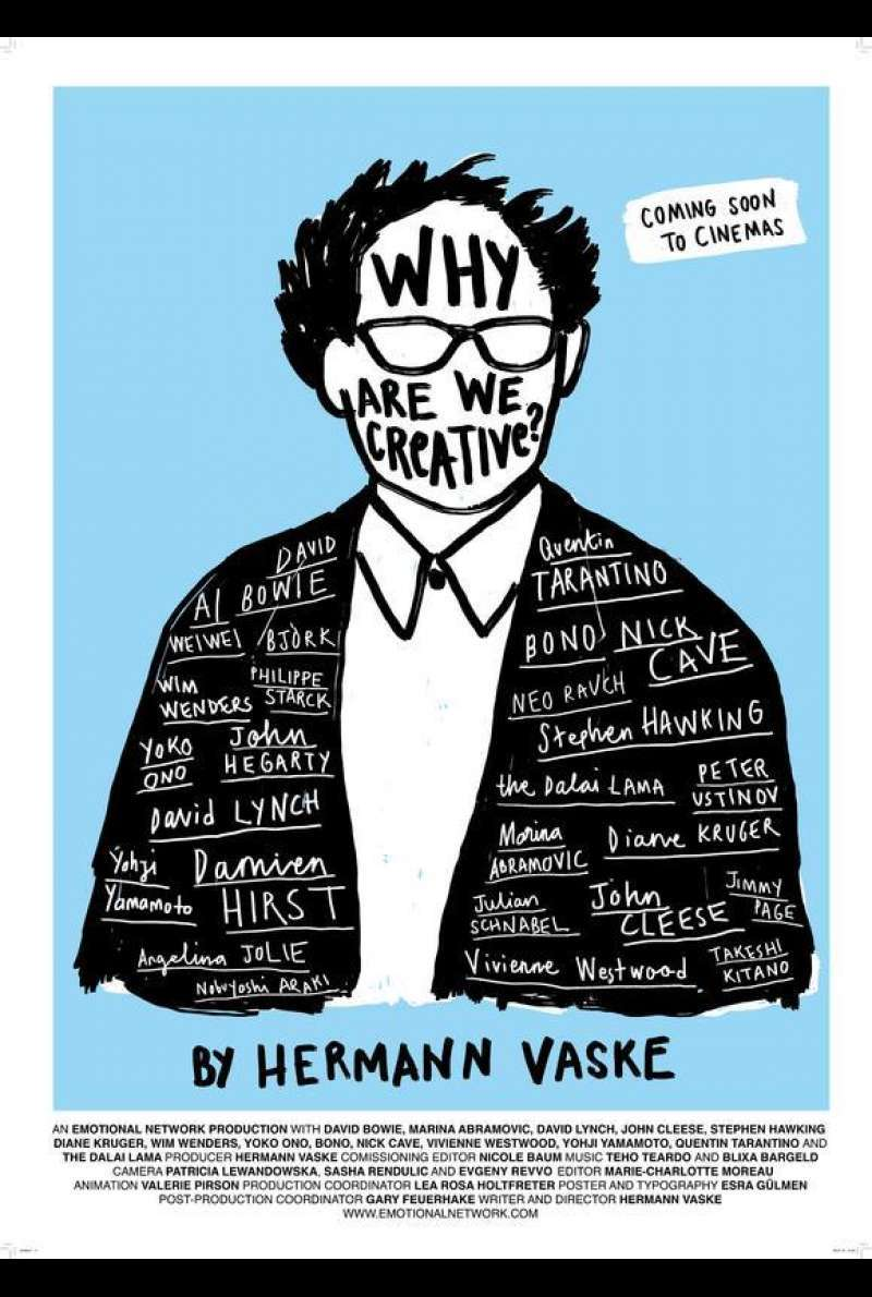 Poster zu Why Are We Creative? (2018)
