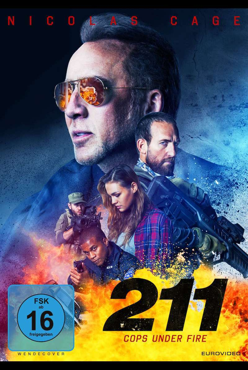 DVD-Cover zu 211 - Cops Under Fire (2018)