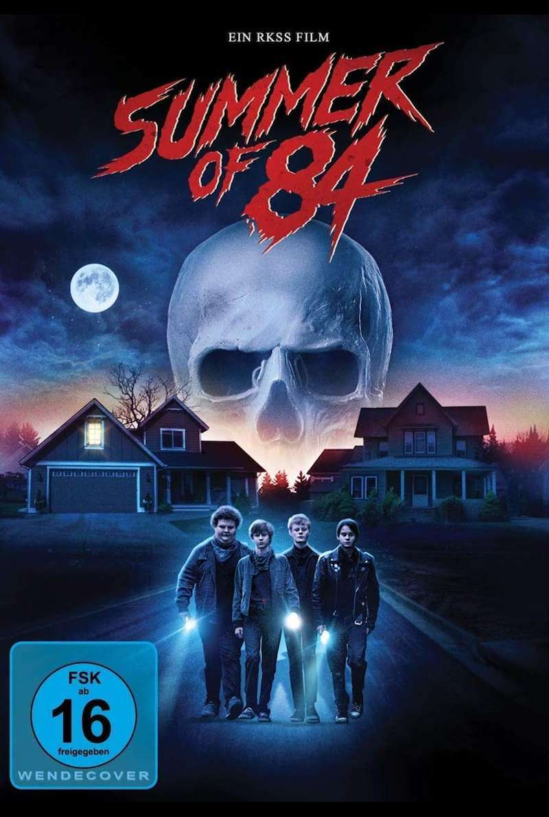 DVD-Cover zu Summer of 84 (2018)