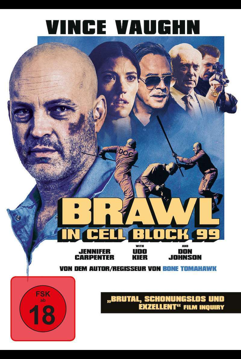 DVD-Cover zu Brawl in Cell Block 99 (2017)