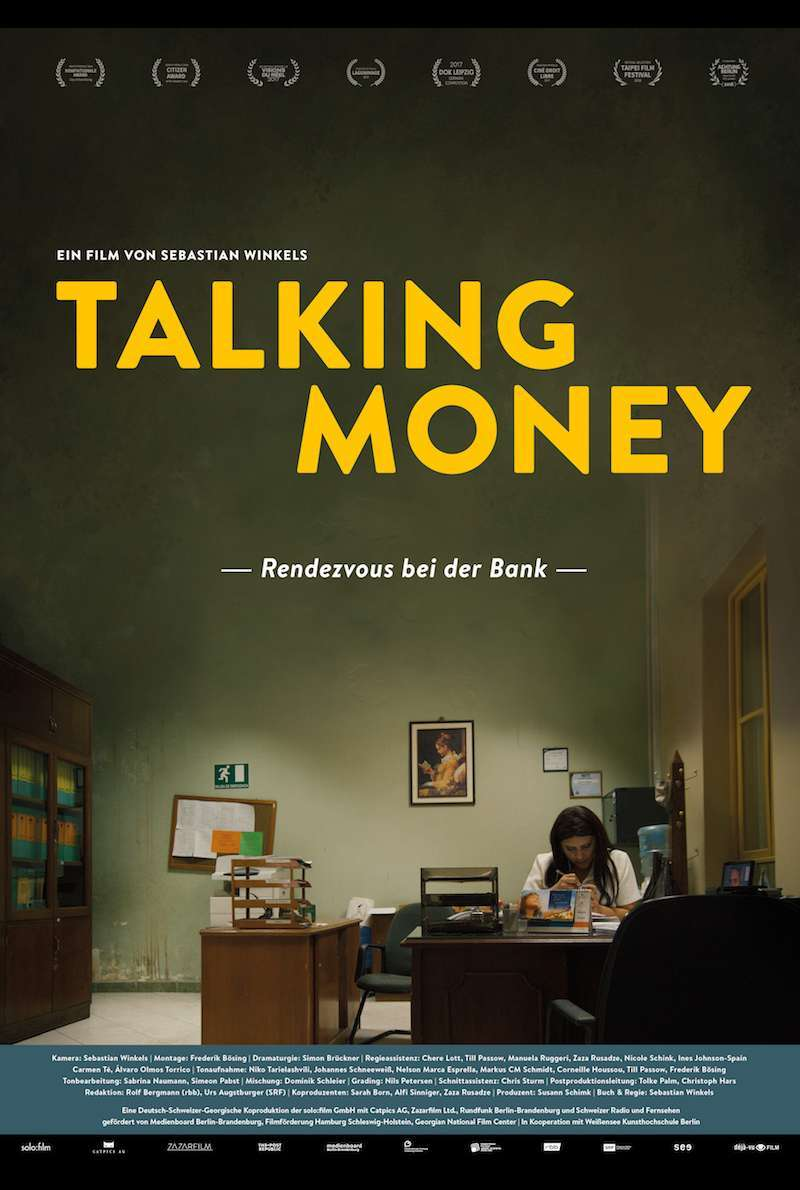 Filmplakat zu Talking Money (2017)