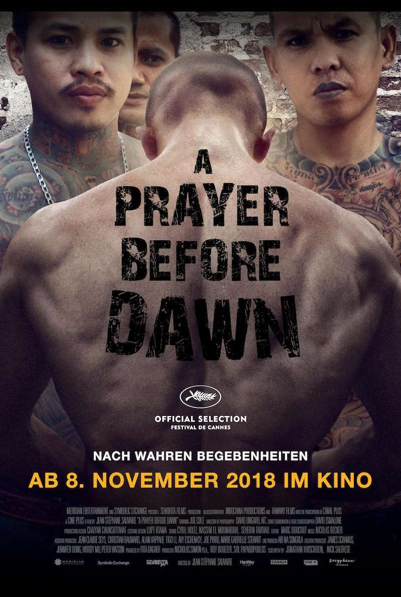 Filmplakat zu A Prayer Before Dawn (2017)