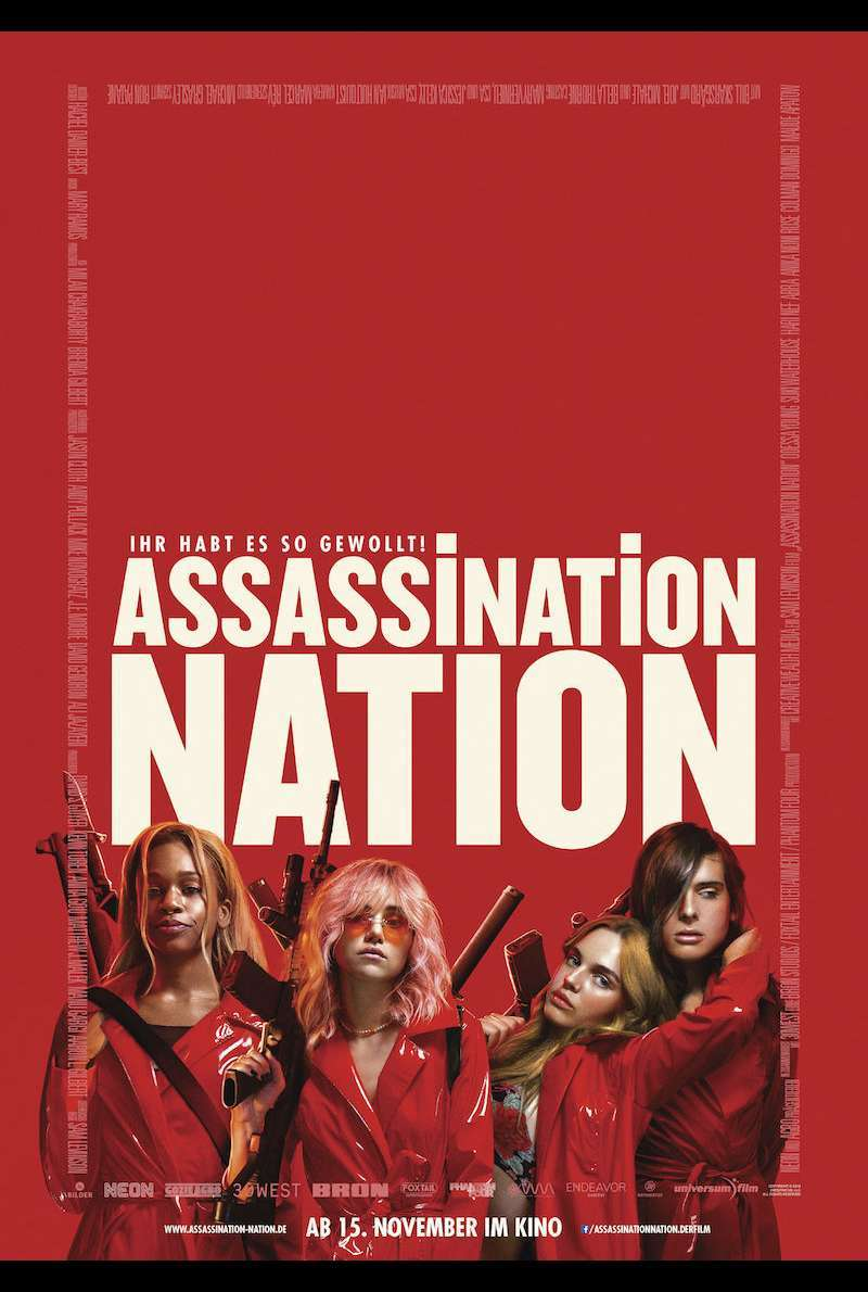 Filmplakat zu Assassination Nation (2018)