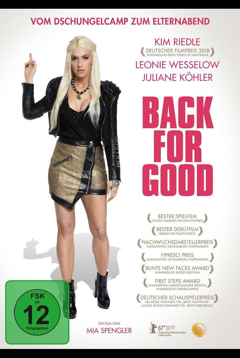 DVD-Cover zu Back for Good (2017)