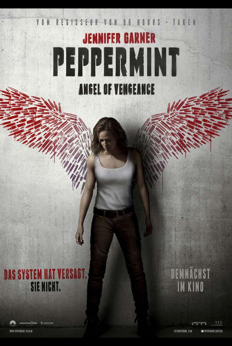Filmplakat zu Peppermint - Angel of Vengeance (2018)