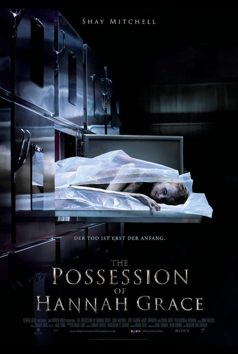 Filmplakat zu The Possession of Hannah Grace (2018)