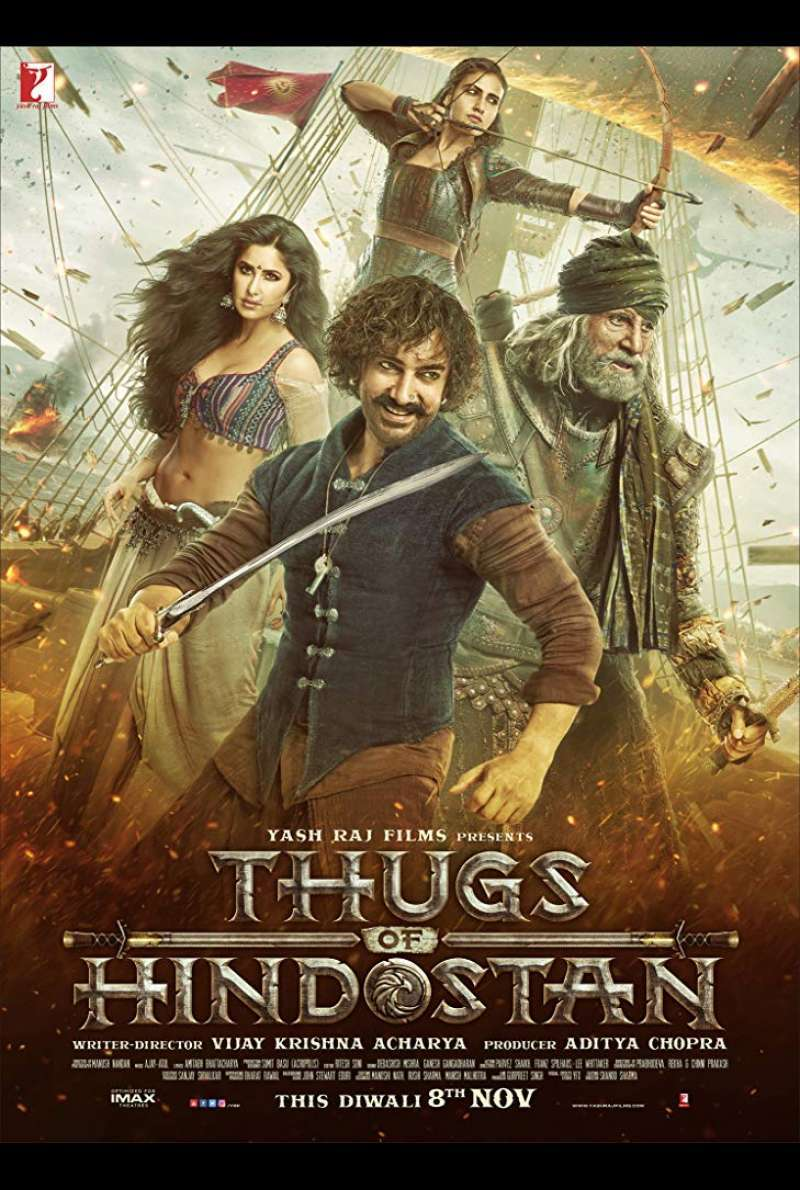 Filmplakat zu Thugs of Hindostan (2018)