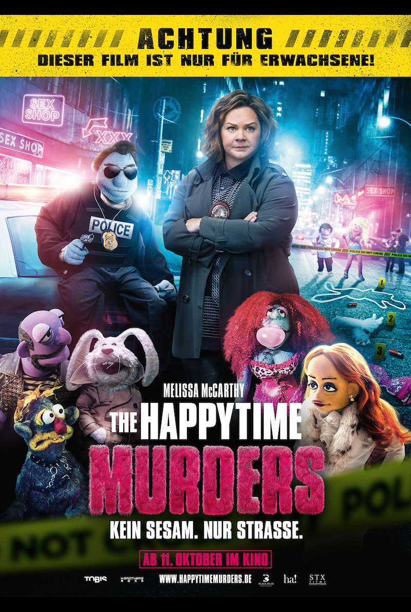 Filmplakat zu The Happytime Murders (2018)