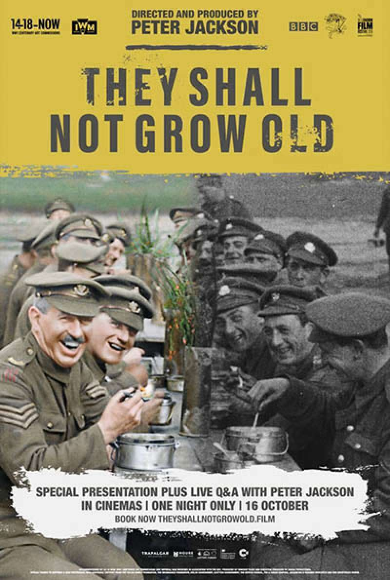 Bild zu They Shall Not Grow Old von Peter Jackson