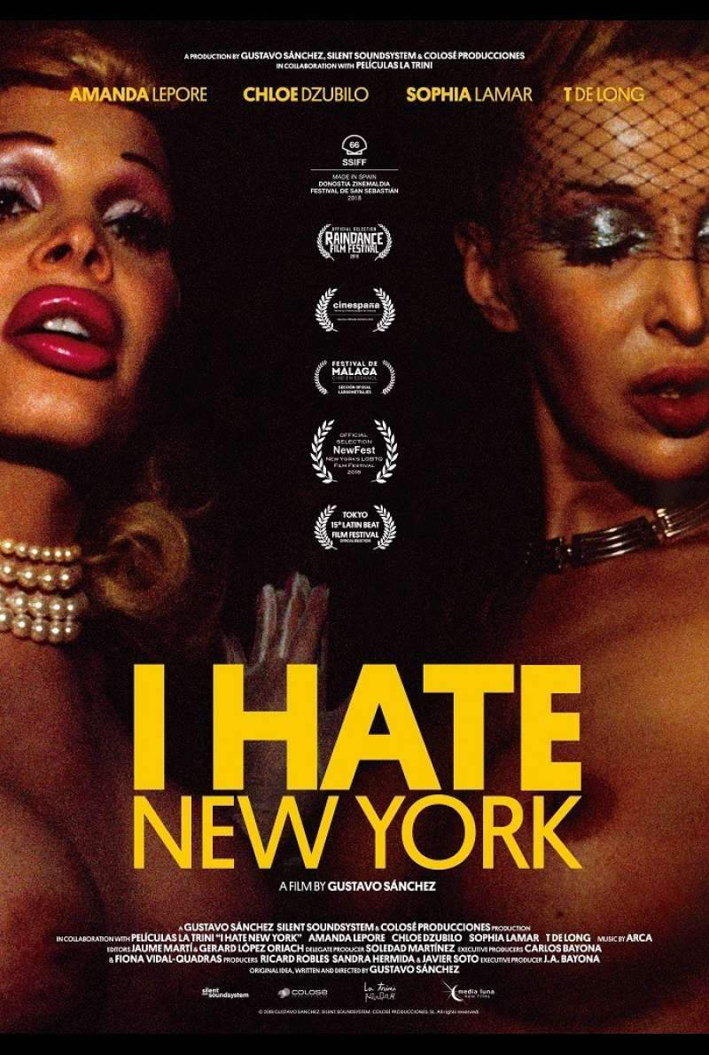 Filmplakat zu I Hate New York (2018)