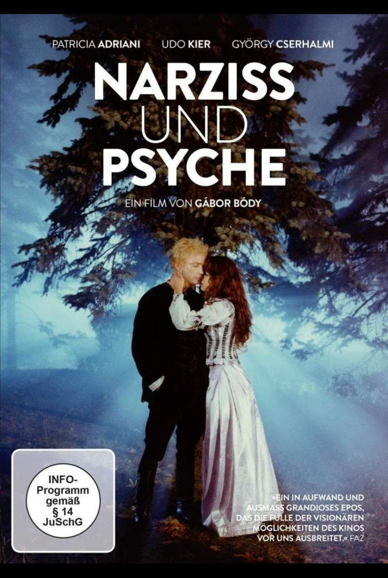 Narziss und Psyche - DVD-Cover